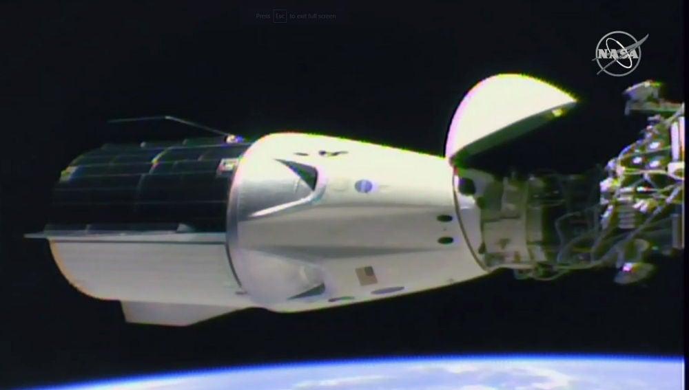 La capsula SpaceX