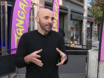 Ferran Poca, uno de los organizadores de 'Tanga party Madrid'