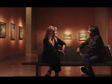 """Jordi Évole pone en apuros a Tita Cervera: """"¿Cuál es el último libro que ha leído?"""""""