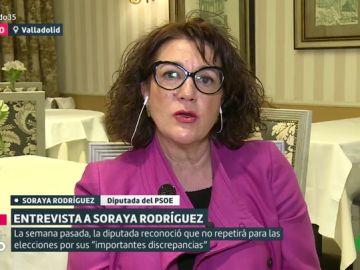 Soraya Rodríguez, diputada del PSOE