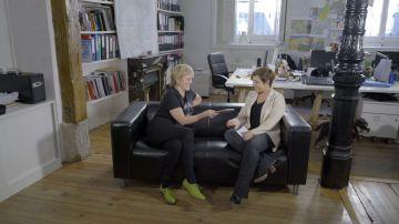 Cristina Pardo entrevista a Mercedes Milá en Liarla Pardo