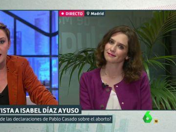 Isabel Díaz Ayuso, en Liarla Pardo