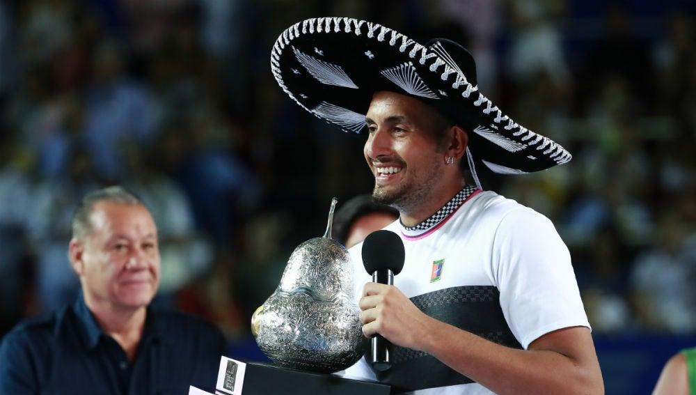 Nick Kyrgios, campeón en Acapulco