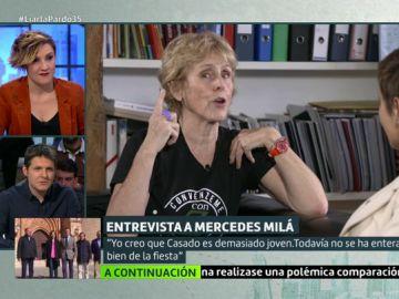 Entrevista a Mercedes Milá en Liarla Pardo