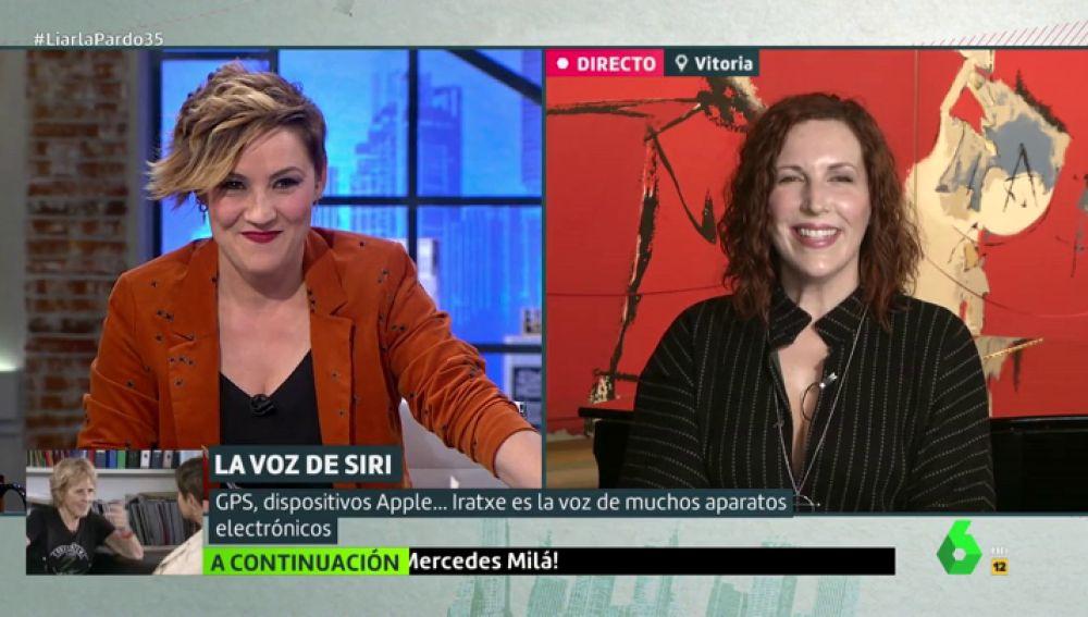 """Iratxe Gómez, la voz de Siri: """"No tengo Iphone, hablar con uno mismo es de locos"""""""