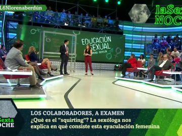 Lorena Berdún, en laSexta Noche