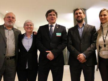 Carles Puigdemont en el Parlamento Europeo
