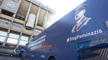El bus de la plataforma Hazte Oír
