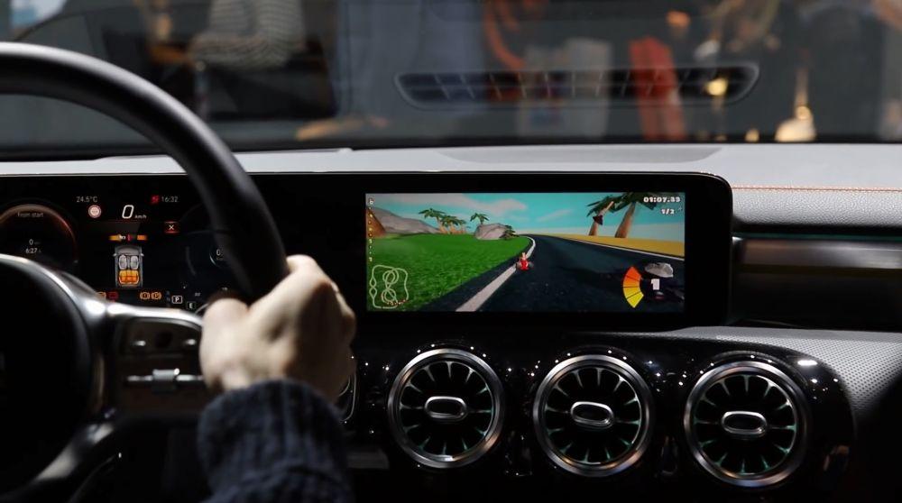 MBUX en el Mercedes CLA