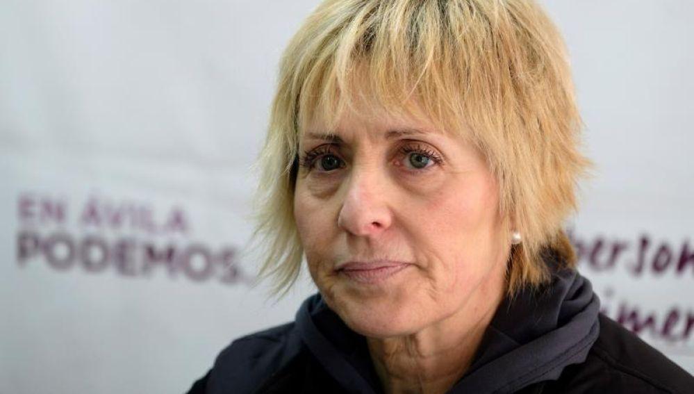 Pilar Baeza, candidata de Podemos a la alcaldía de Ávila