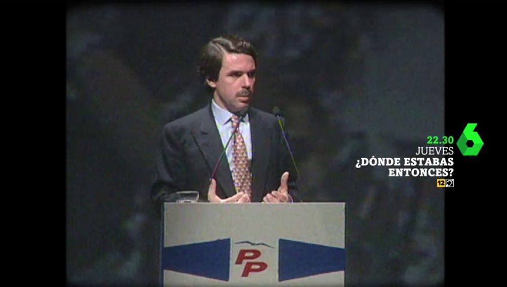 """""""España va bien"""": Dónde estabas entonces analiza cómo fue 1997 para los políticos"""