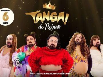 Imagen promocional de la fiesta Tanga