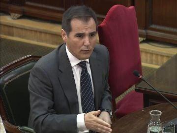 José Antonio Nieto, en el juicio del 'procés'
