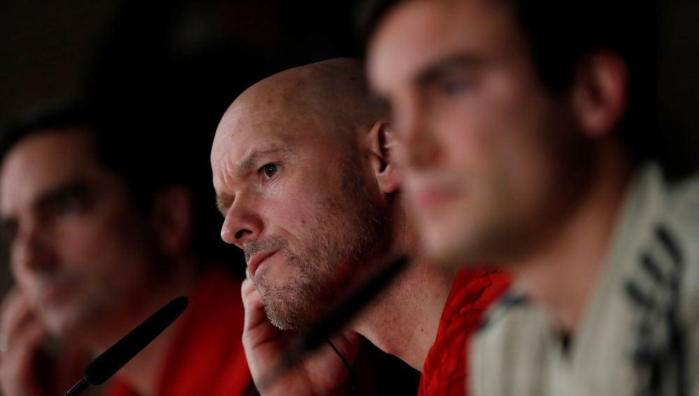 Ten Hag, entrenador del Ajax