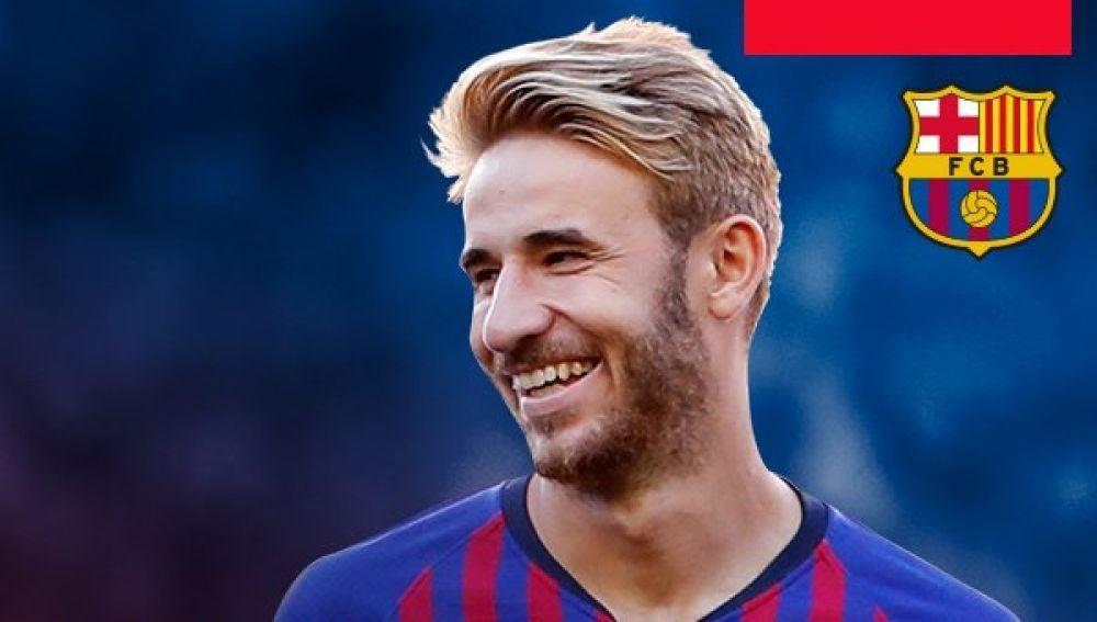 Sergi Samper se marcha del Barça