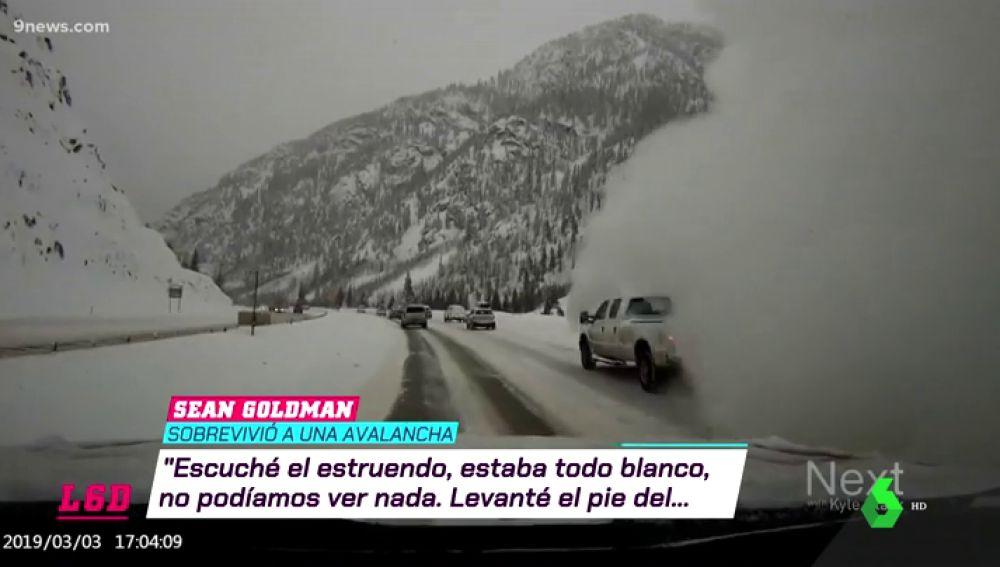 """""""Fue la peor experiencia de mi vida"""": así vivió una familia la brutal avalancha en Colorado"""