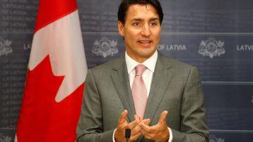 El primer ministro canadiense, Justin Trudeau