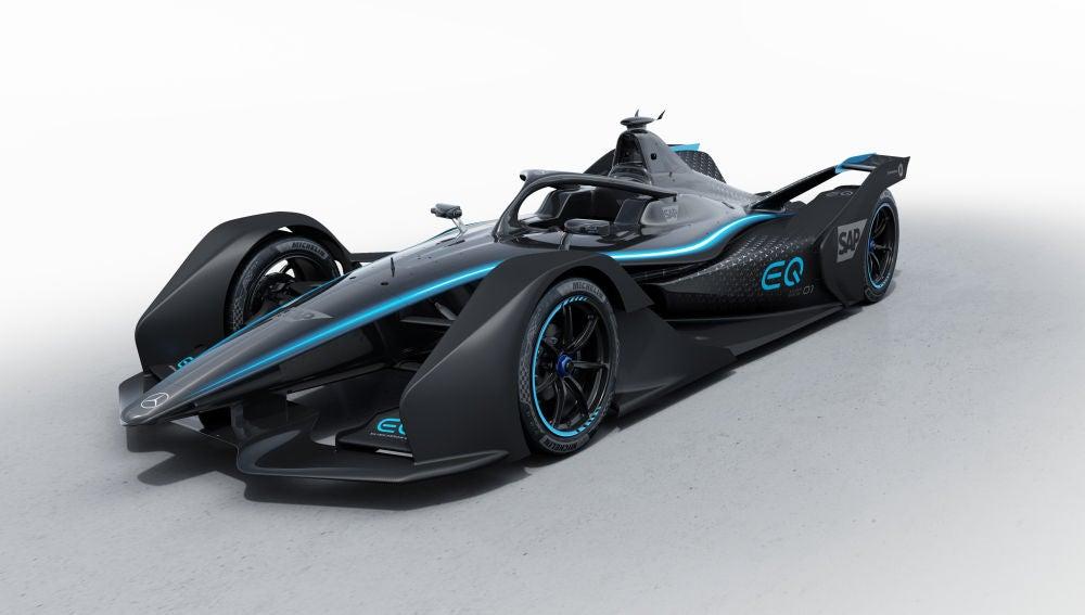 Mercedes-Benz presenta su primer Fórmula E
