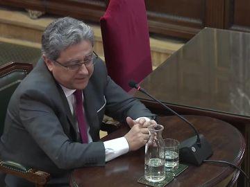 Josep Enric Millo declara en el juicio del 'procés'