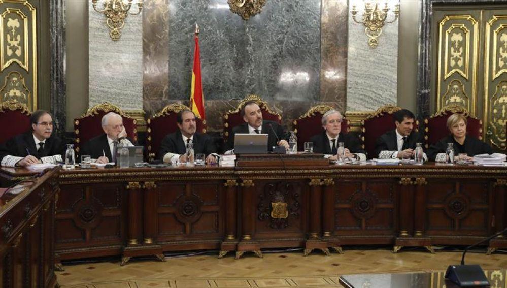 Tribunal del juicio del 'procés'