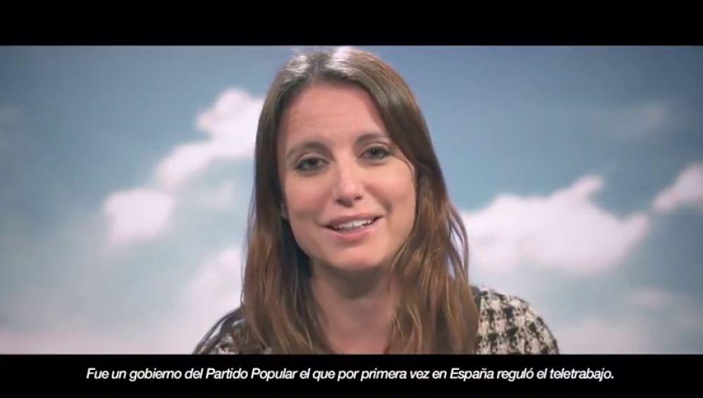"""El PP lanza un vídeo por el 8M en el que se presenta como la garantía de igualdad: """"Muchos dicen, nosotras hacemos"""""""