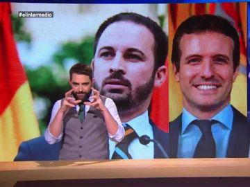 """Pablo Casado, Albert Rivera y Santiago Abascal crean """"el candidato de derechas definitivo"""""""
