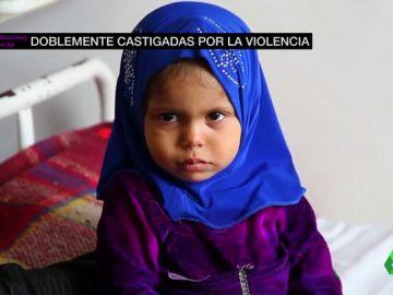 Mujeres y niñas en conflicto: dobles víctimas de la violencia
