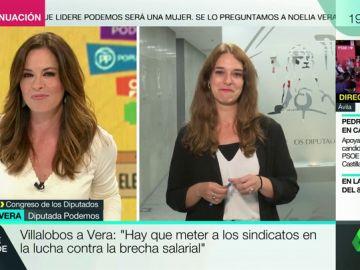 """Noelia Vega (UP): """"Pablo Iglesias es el mejor candidato, además de ser un líder feminista"""""""