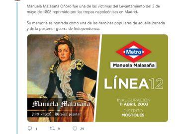 El hilo de Twitter que muestra los 54 personajes que dan nombre a las estaciones madrileñas