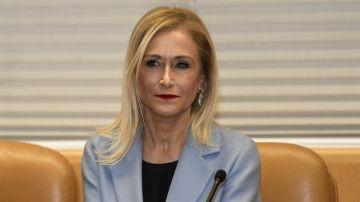 La expresidenta regional Cristina Cifuentes