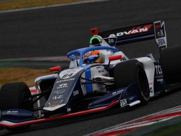 Álex Palou en el circuito de Suzuka