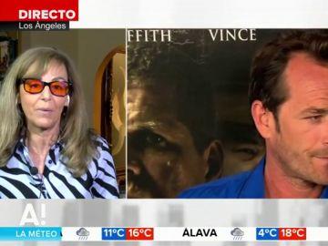 """María Estévez habla de la muerte de Luke Perry: """"Ha sido un palo tremendo, había tenido problemas con las drogas pero ya lo había superado"""""""