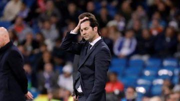Santiago Hernán Solari, técnico del Real Madrid.