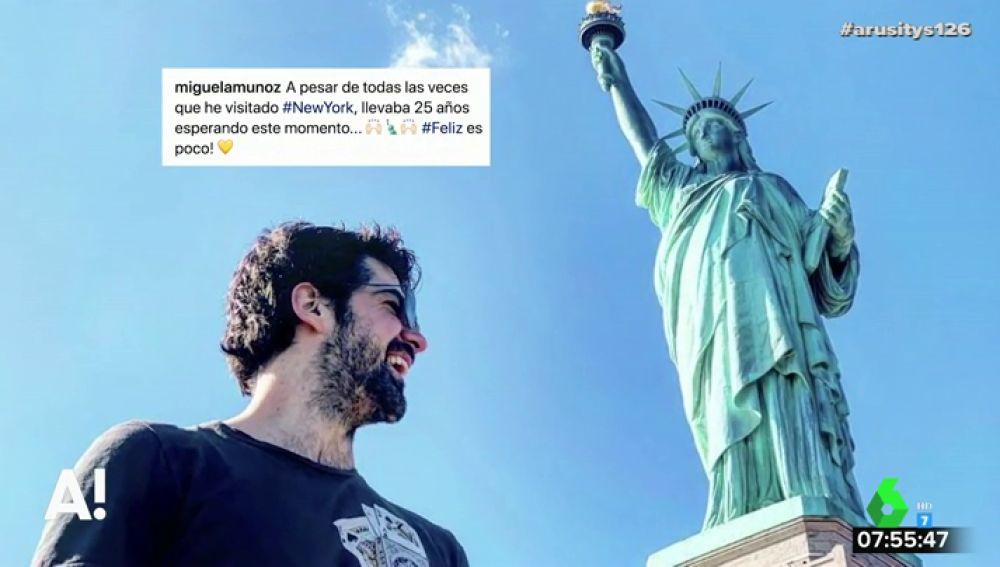 Ana Guerra y Miguel Ángel Muñoz publican sus primeras imágenes en Miami