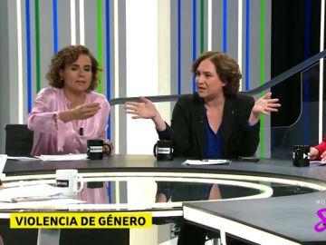 """Dolors Montserrat, a Ada Colau sobre Pablo Iglesias: """"Tu líder dijo que azotaría a una mujer hasta sangrar y no te oí condenarlo"""""""