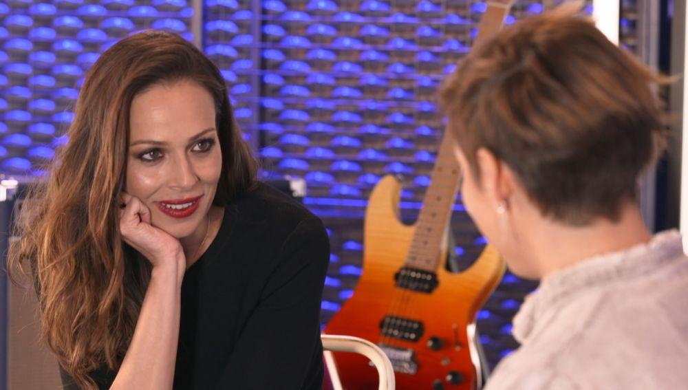 Eva González con Cristina Pardo