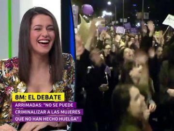 """Siri irrumpe la intervención de Inés Arrimadas en el debate de El Objetivo: """"¿Puedo ayudar con algo?"""""""
