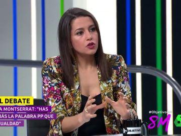 Inés Arrimadas en El Objetivo