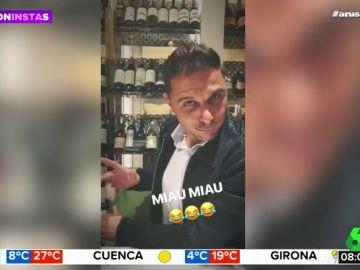 """La divertida imitación de Joaquín a Ylenia que arrasa en redes: """"Tiki tiki, miau miau"""""""