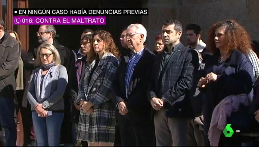 En recuerdo de María José, Gloria y Estrella, asesinadas por sus maridos poco después de celebrarse el 8M