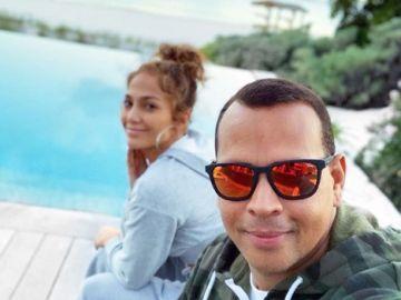 En las Bahamas y con un anillo de un millón de euros: Jennifer Lopez y Alex Rodríguez se comprometen