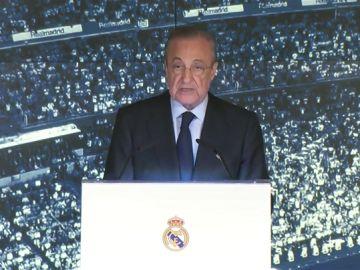 """Florentino Pérez, a Zidane: """"Cuando te lo ofrecimos hace cinco días, mostraste una vez más tu lealtad"""""""