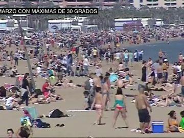 Temperaturas de hasta 30º en Valencia
