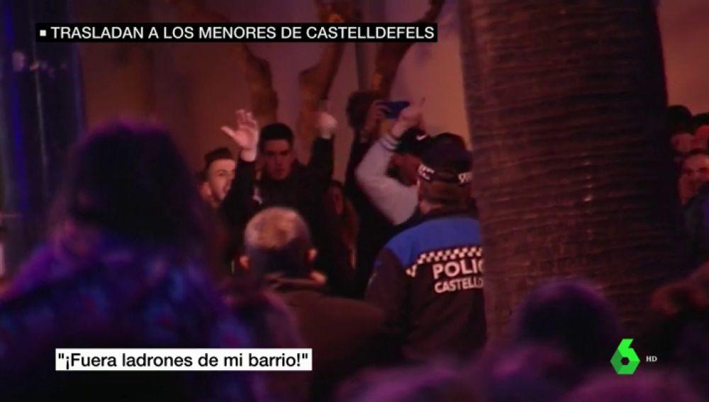 La situación de los menores migrantes divide a los vecinos de Castelldefels