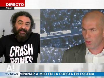 """El Sevilla, emocionado con la vuelta de Zidane al Real Madrid: """"El futuro del equipo era negro hasta que llegó él"""""""