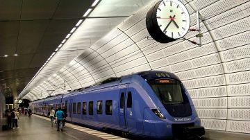 Imagen de un tren en Suecia (Archivo)
