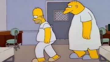 Imagen del episodio de Los Simpson doblado por Michael Jackson