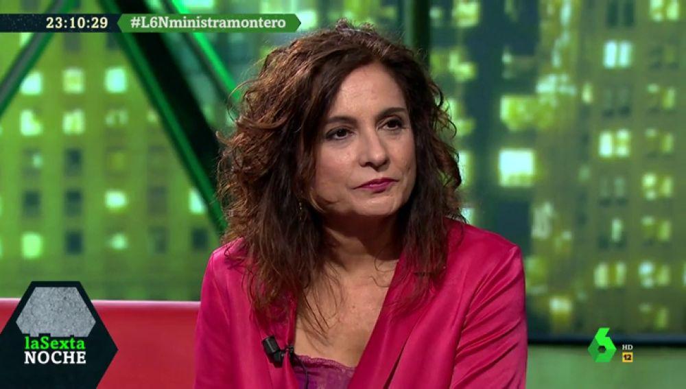 """María Jesús Montero responde a la polémica propuesta del PP sobre las migrantes: """"Es una declaración xenófoba y un chantaje a las mujeres"""""""