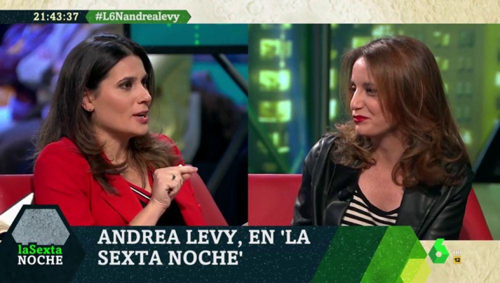 Así responde Andrea Levy a la crítica de Cayetana Álvarez de Toledo al papel del PP de Rajoy en Cataluña