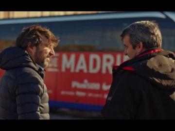 """La emotiva historia detrás del conductor del autobús del Atlético de Madrid: """"Cogí el trabajo en memoria de mi hermano"""""""